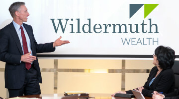 Wildermuth Wealth Atlanta home banner conference room mobile